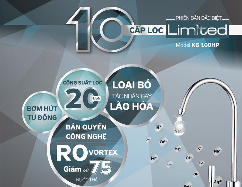Công nghệ 10 cấp lọc ưu Việt