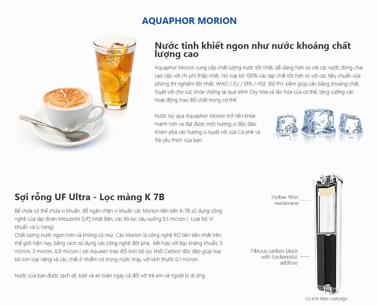 Công nghệ lọc cung cấp loại nước thanh khiết
