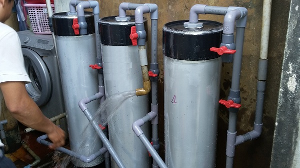 Hệ thống lọc nước phèn cỡ lớn