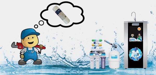 Máy lọc nước rất tiện lợi