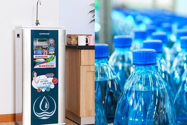 Nên chọn nước khoáng hay nước lọc