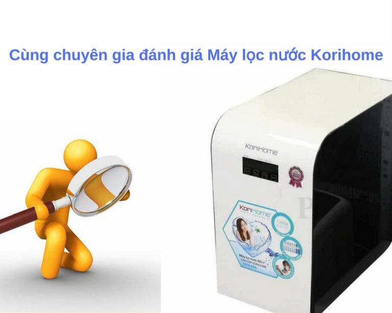 Ưu điểm của máy lọc nước Korihome